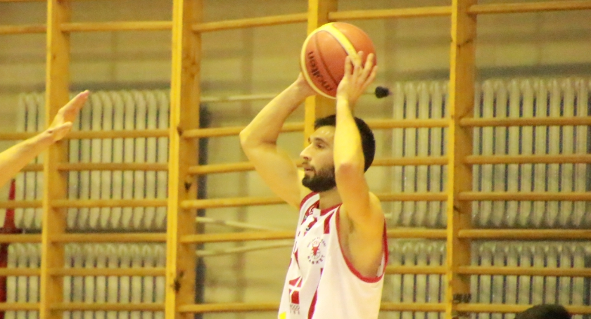 KOSZYKÓWKA, Basket Bielsk Podlaski Lublin - zdjęcie, fotografia