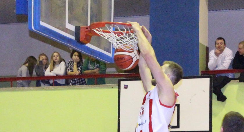 KOSZYKÓWKA, Basket Bielsk Podlaski Sokół Ostrów Mazowiecka - zdjęcie, fotografia
