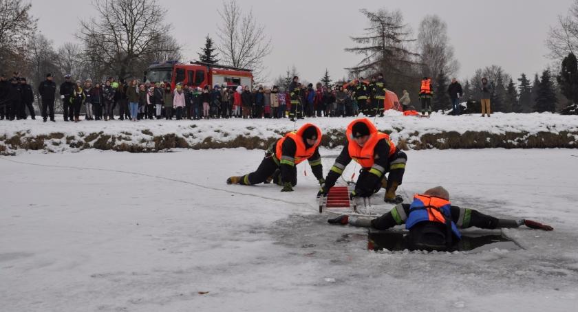 PREWENCJA, Szkolenie dziedziny ratownictwa lodzie Bielsku Podlaskim - zdjęcie, fotografia