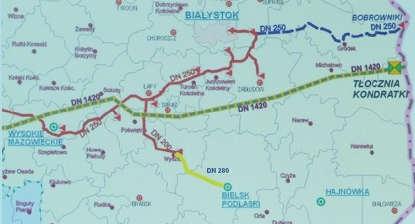 INWESTYCJE, Sieć gazowa Bielsku Podlaskim - zdjęcie, fotografia