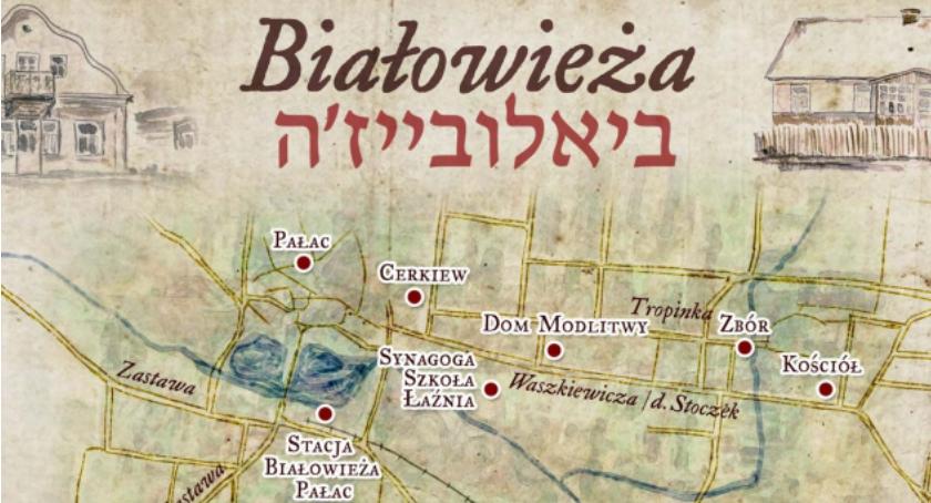 WYDARZENIA, Prezentacja Wirtualnego Muzeum Żydów Białowieży - zdjęcie, fotografia
