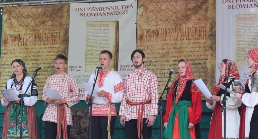 WYDARZENIA, Piśmiennictwa Kultury Słowiańskiej - zdjęcie, fotografia