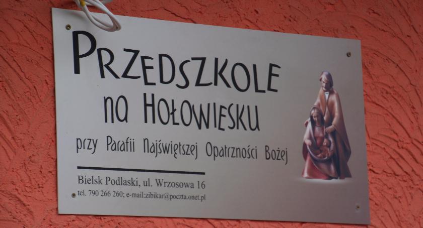 Edukacja , Przedszkole Hołowiesku oficjalnie działa - zdjęcie, fotografia