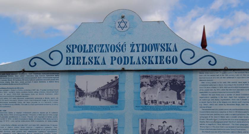 Historia, Bielsk Podlaski będzie trwale pamiętał społeczności żydowskiej - zdjęcie, fotografia