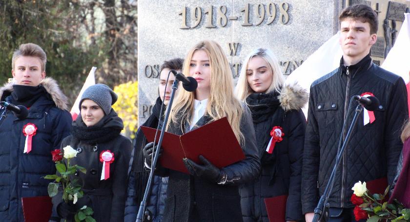 HISTORIA, Narodowe Święto Niepodległości Bielsku Podlaskim - zdjęcie, fotografia