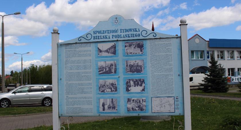 HISTORIA, rocznica zagłady żydowskich mieszkańców Bielska Podlaskiego - zdjęcie, fotografia