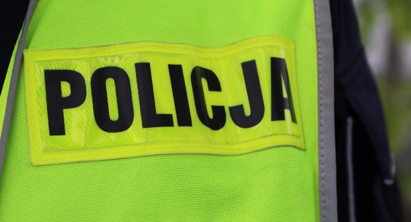 PRZESTĘPSTWA I WYKROCZENIA, Policja zatrzymała pijanego kierowcę - zdjęcie, fotografia