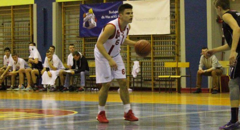 KOSZYKÓWKA, Basket Bielsk Podlaski Start Lublin - zdjęcie, fotografia