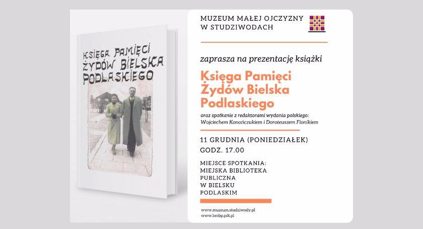 Książka , Księga Pamięci Żydów Bielska Podlaskiego - zdjęcie, fotografia