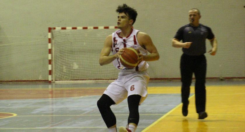 KOSZYKÓWKA, Basket Bielsk Podlaski Łódź - zdjęcie, fotografia