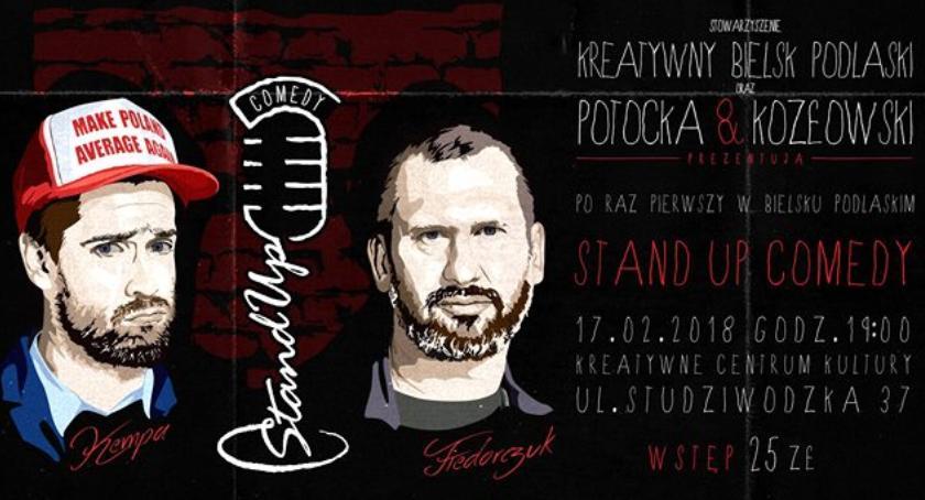 Zapowiedzi, Stand Comedy Bielsku Podlaskim - zdjęcie, fotografia