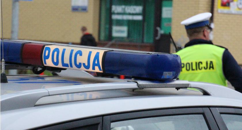 Przestępstwa i Wykroczenia , Bielsk Podlaski Wypadek skrzyżowaniu Kleszczowskiej Lipowej - zdjęcie, fotografia
