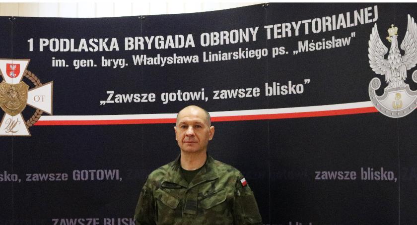 Pożar , Andrzej Miszczuk żołnierz obrony terytorialnej ratuje życie - zdjęcie, fotografia