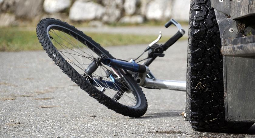 BLOGI, Wypadek krajowej żyje letnia rowerzystka - zdjęcie, fotografia