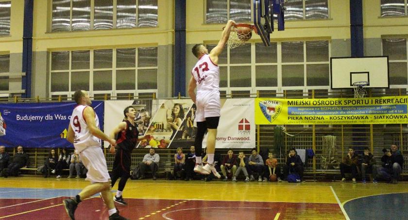 KOSZYKÓWKA, Basket Bielsk Podlaski Polonia Warszawa - zdjęcie, fotografia