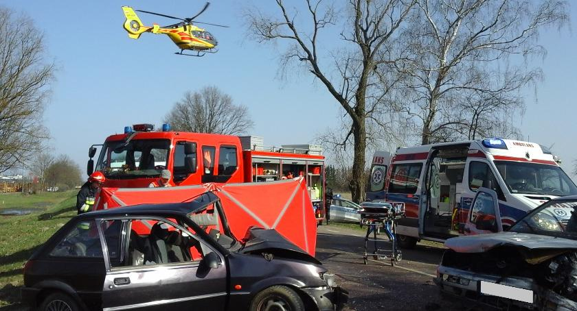 Wypadek, Bielsk Podlaski Śmiertelny wypadek Kleszczelowskiej - zdjęcie, fotografia