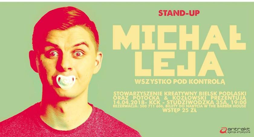 WYDARZENIA, Michał Stand Comedy Bielsku Podlaskim - zdjęcie, fotografia