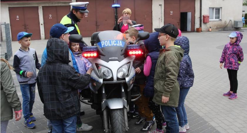 PREWENCJA, Uczniowie wizytą bielskiej komendzie - zdjęcie, fotografia