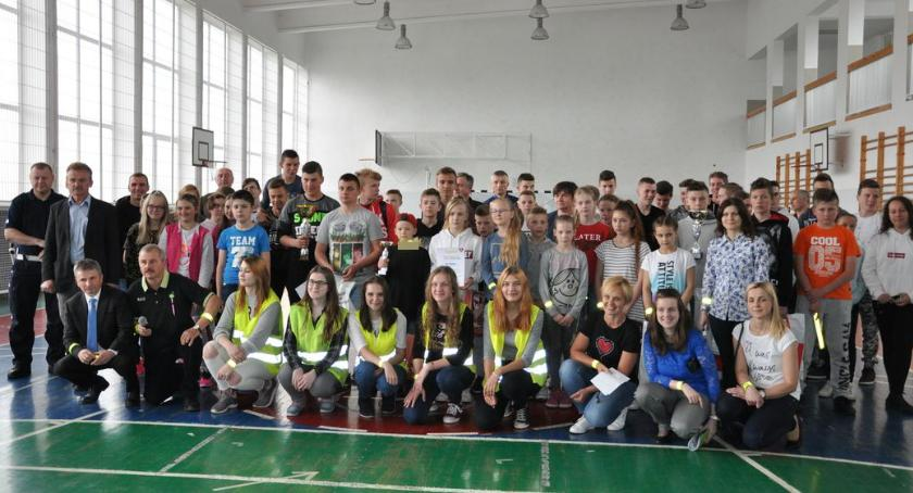 PREWENCJA, Młodzież powiatu bielskiego walczyła Turnieju Wiedzy Bezpieczeństwie Ruchu Drogowym - zdjęcie, fotografia