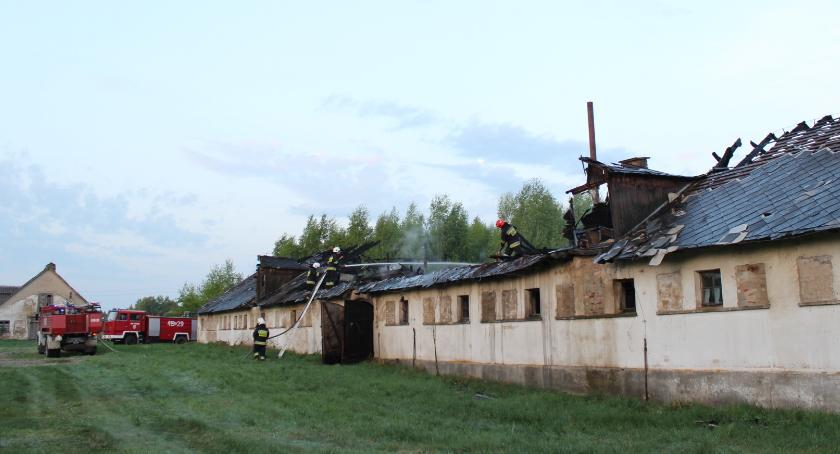 POŻAR, Pożar Plutycze - zdjęcie, fotografia