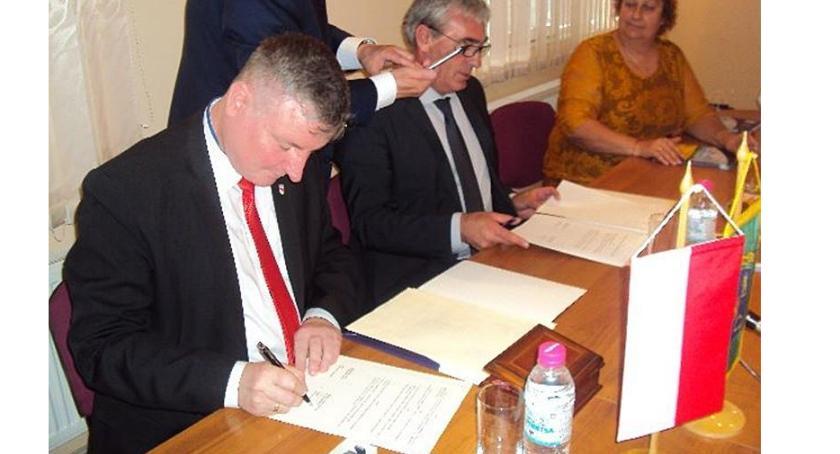 URZĘDY, Bielsk Podlaski będzie kontynuował współpracę Mogili - zdjęcie, fotografia