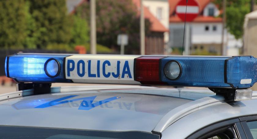 Przestępstwa i Wykroczenia , Proniewicze Policja zatrzymała prawo jazdy przekroczenie prędkości - zdjęcie, fotografia