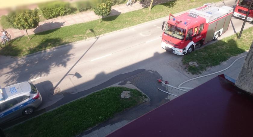 PRZESTĘPSTWA I WYKROCZENIA, Bielsk Podlaski Fałszywy alarm bombowy - zdjęcie, fotografia