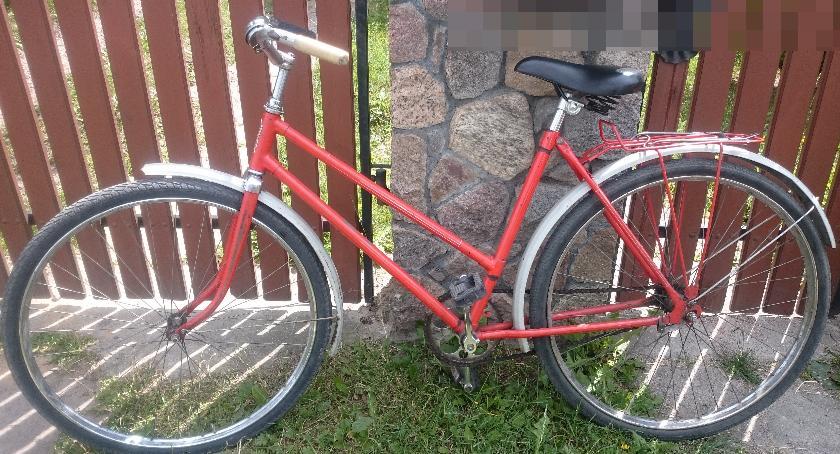 PRZESTĘPSTWA I WYKROCZENIA, Bielska policja odzyskała skradziony rower - zdjęcie, fotografia