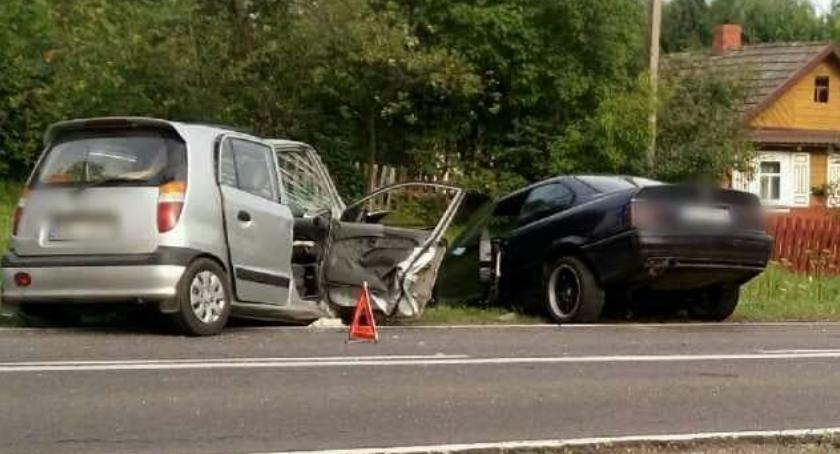 WYPADEK, Wypadek Haćki policja wyznaczyła objazdy - zdjęcie, fotografia