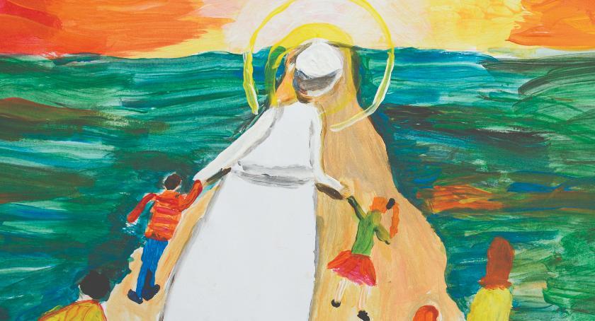 Religia , edycja Międzynarodowego Konkursu Plastycznego Święty Paweł oczach dziecka - zdjęcie, fotografia