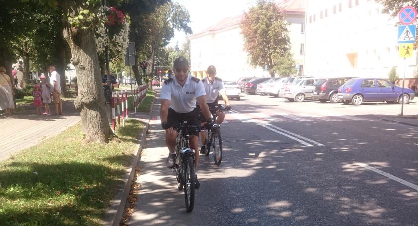Bielsk Podlaski: Rowerowe patrole policji
