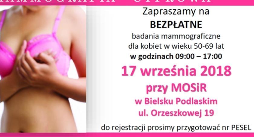 ZDROWIE, Bielsk Podlaski Mammografia - zdjęcie, fotografia