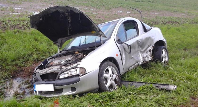Wypadek, Bielsk Podlaski Wypadek Orlańskiej - zdjęcie, fotografia