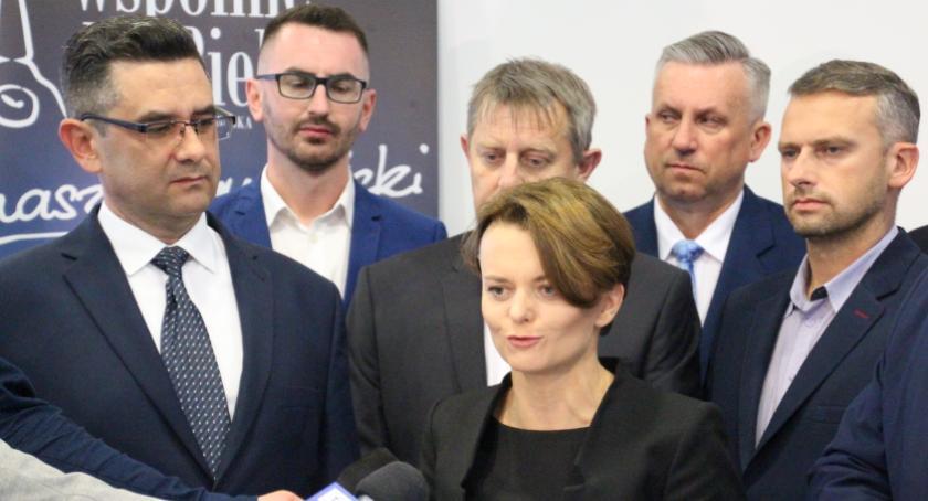 POLITYKA, Minister Jadwiga Emilewicz odwiedziła Bielsk Podlaski - zdjęcie, fotografia