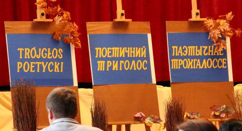 WYDARZENIA, Trójgłos Poetycki - zdjęcie, fotografia