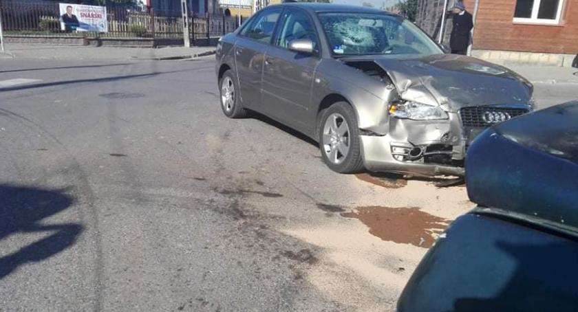 WYPADEK, Wypadek Brańsku osoby trafiły szpitala - zdjęcie, fotografia