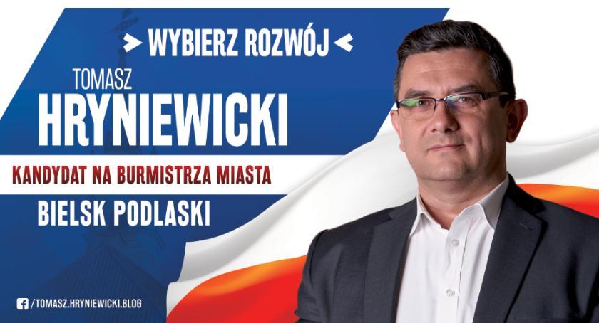 POLITYKA, Tomasz Hryniewicki DOBRA PRZYSZŁOŚĆ BIELSKA PODLASKIEGO - zdjęcie, fotografia