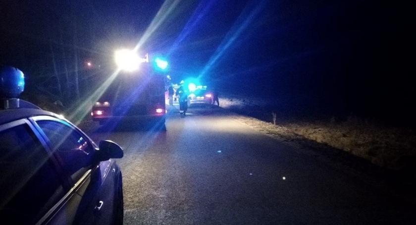 WYPADEK, Pijany mężczyzna zjechał zginęła młoda kobieta - zdjęcie, fotografia