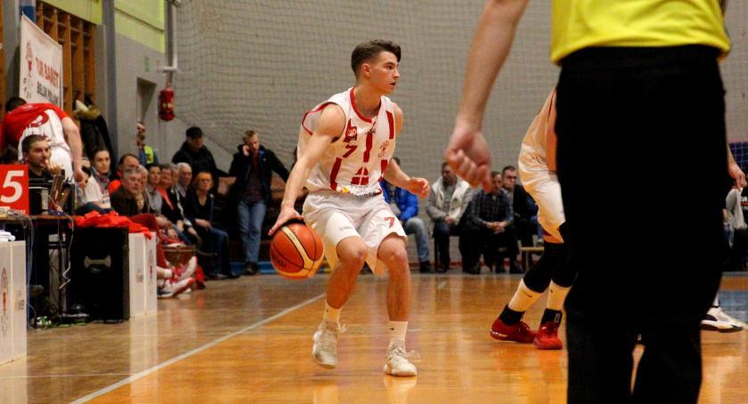 KOSZYKÓWKA, Basket szans starciu Lublin - zdjęcie, fotografia