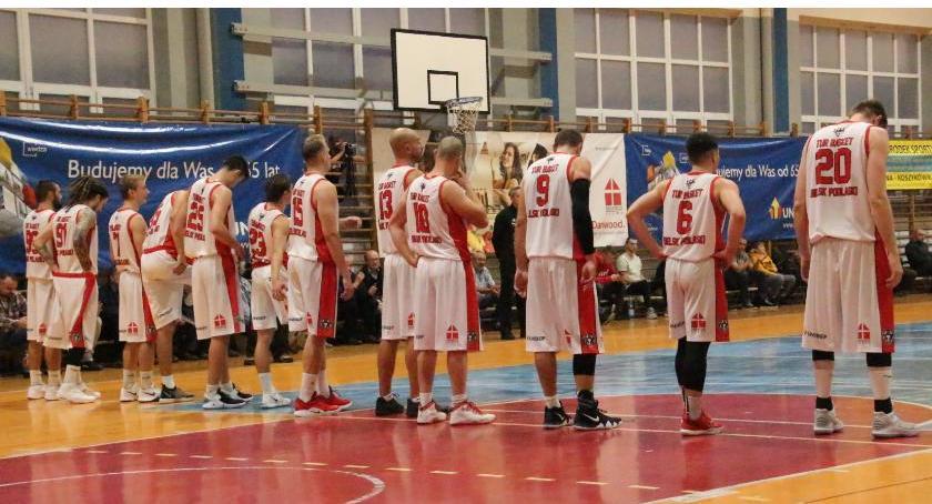 KOSZYKÓWKA, Basket Bielsk Podlaski Warszawa - zdjęcie, fotografia