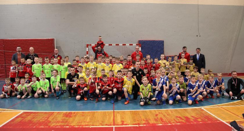 """FUTSAL, Bielski turniej """"Żaków"""" Olimpii Zambrów - zdjęcie, fotografia"""