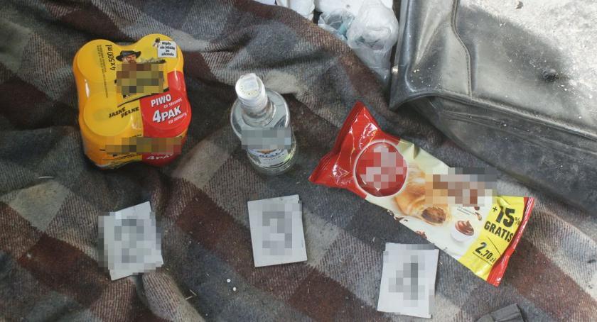 PRZESTĘPSTWA I WYKROCZENIA, Bielsk Podlaski Kradzież alkoholu artykułów spożywczych stacji paliw - zdjęcie, fotografia