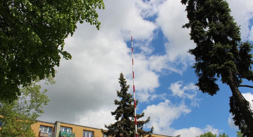 ZDROWIE, Bielsk Podlaski Zainstalowano czujniki monitorujące jakość powietrza - zdjęcie, fotografia