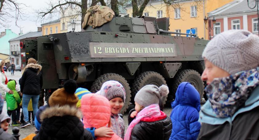 WYDARZENIA, Prezentacja uzbrojenia wojskowego Wiźnie Brańsku - zdjęcie, fotografia