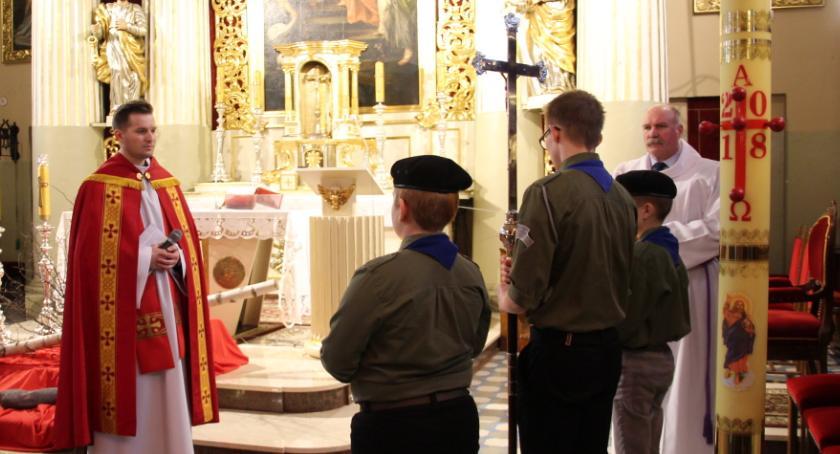 RELIGIA, Harcerska Droga Krzyżowa - zdjęcie, fotografia