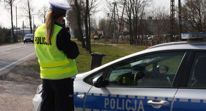 """PRZESTĘPSTWA I WYKROCZENIA, Policyjna akcja """"Prędkość"""" Ujawniono ponad czterdzieści wykroczeń - zdjęcie, fotografia"""