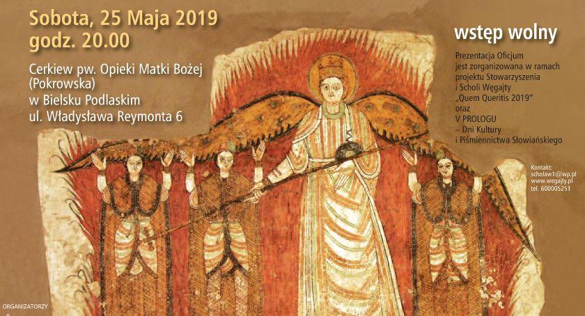 WYDARZENIA, Bizantyjska muzyka naszych prakorzeni Oficjum trzech zbożnych młodziankach piecu ognistym - zdjęcie, fotografia