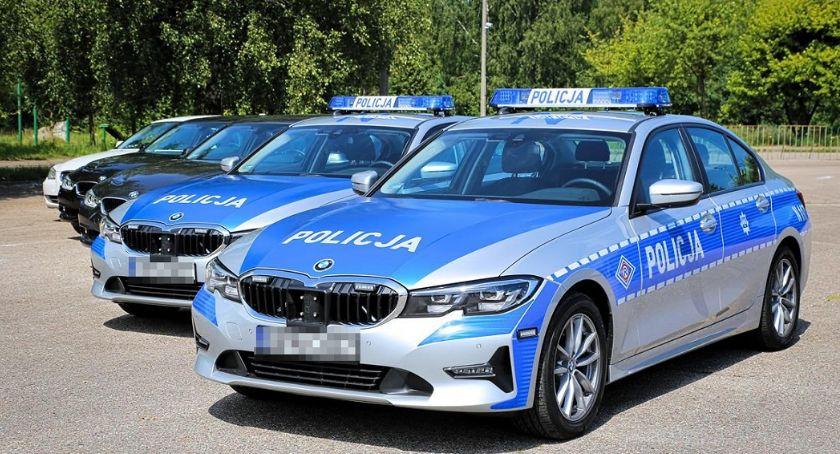 PRZESTĘPSTWA I WYKROCZENIA, Policjanci grupy SPEED drogach powiatu bielskiego - zdjęcie, fotografia