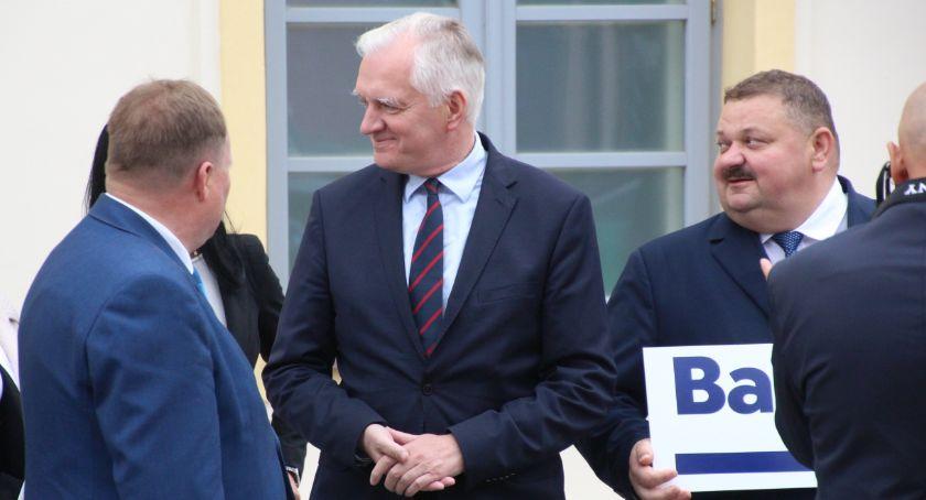 POLITYKA, Bielsk Podlaski Jarosław Gowin nowelizacji ustawy finansowania Chrześcijańskiej Akademii Teologicznej - zdjęcie, fotografia
