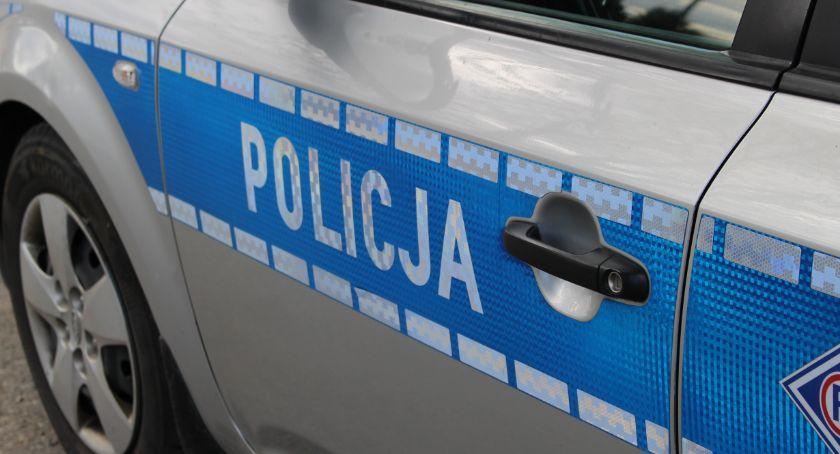 WYPADEK, Wypadek trasie Bielsk Podlaski Siemiatycze Droga Zablokowana - zdjęcie, fotografia